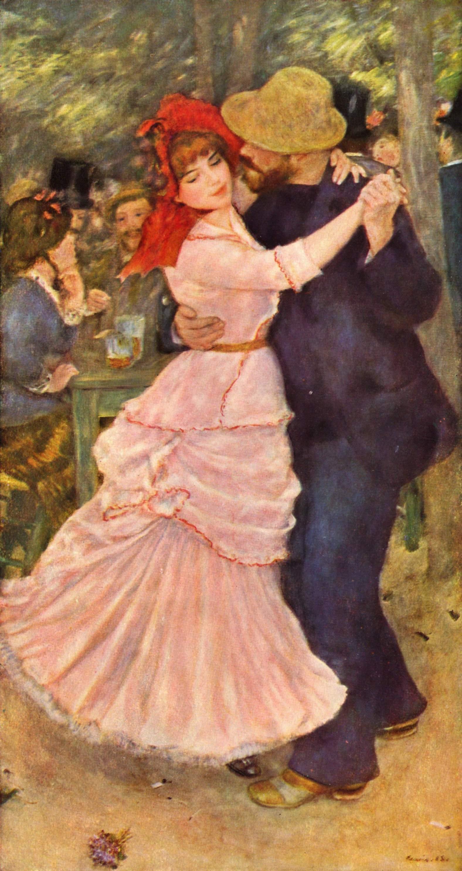 Ballo al Bougival - Augusto Renoir