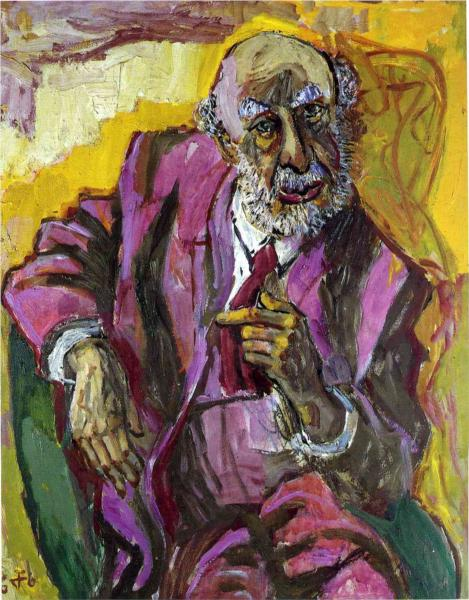 Portrait of Fritz Perls