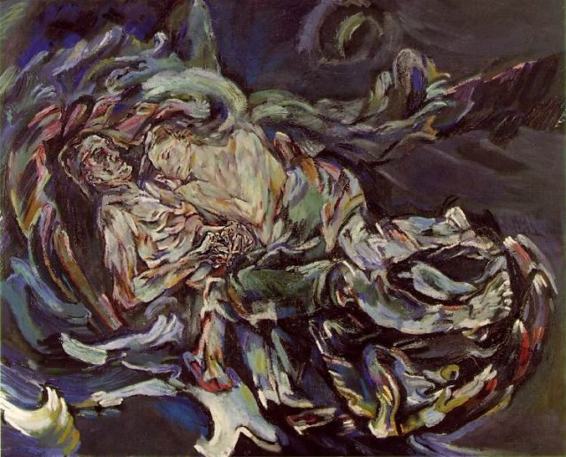 Bride of the Wind, 1914, oil on wood, 181 x 220cm, Kunstmuseum, Basel