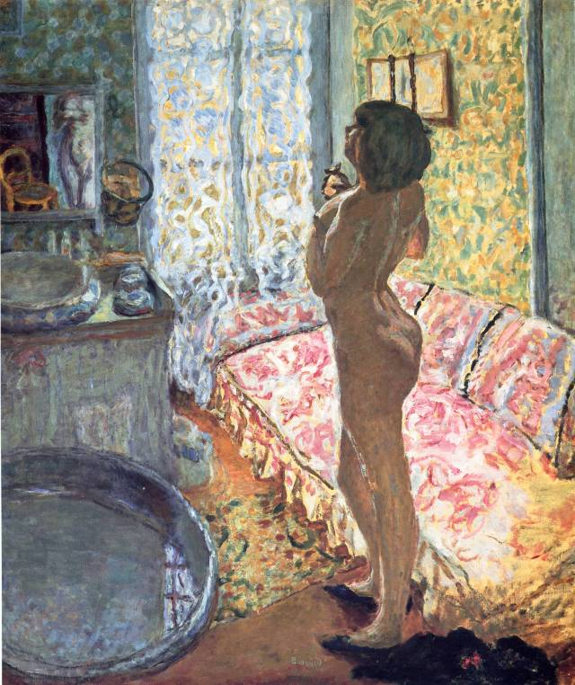 Model in Backlight, 1908, oil on canvas, 125 x 109 cm