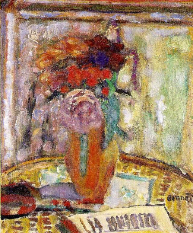The Vase of Flowers, 1945, oil on canvas, 39 x 32 cm, Private Collection