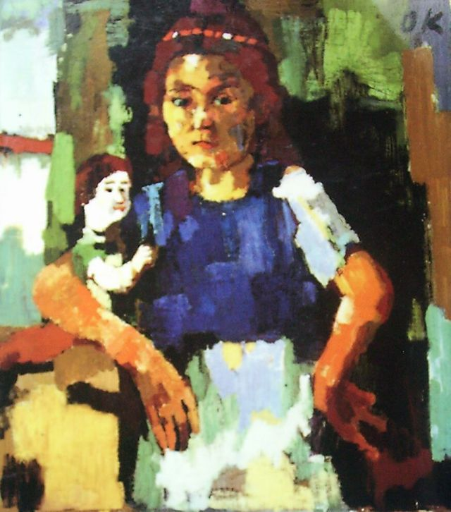 Young Girl with Doll, 1921-22, oil on canvas, 91.5 x 81.2cm, the Detroit Institute of the Arts, Detroit
