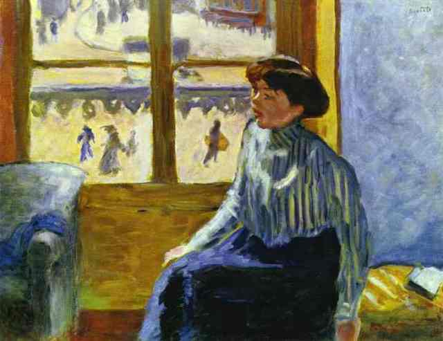 Young Woman Before the Window, 1898, oil on canvas, Private Collection
